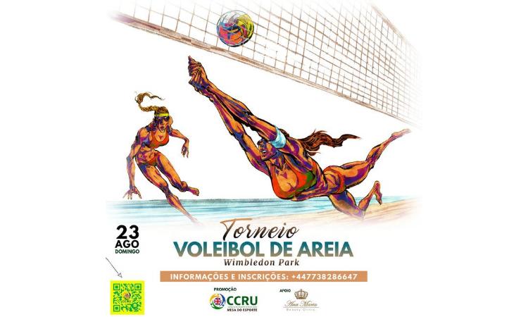 Torneio Voleibol de Areia