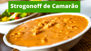 Rodrigão Cozinha Rústica - Strogonoff de camarão
