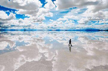 Salar de Uyuni. O maior deserto de sal do mundo