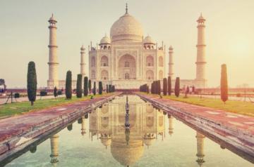 Uma das sete Maravilhas do Mundo – Taj Mahal