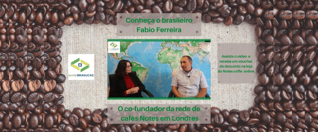Conheça o brasileiro Fabio Ferreira, co-fundador da rede de cafés Notes em Londres