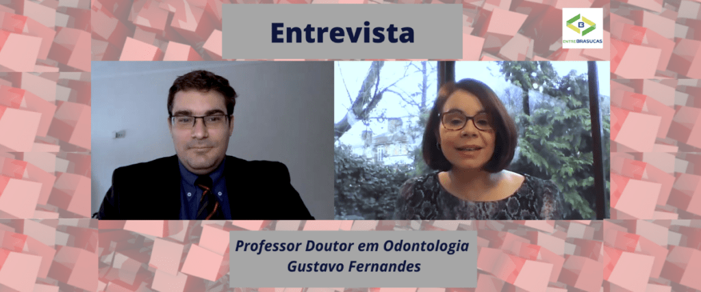 """""""Eu gostava muito do meu dentista"""" diz o Professor Doutor em Odontologia Gustavo Fernandes"""