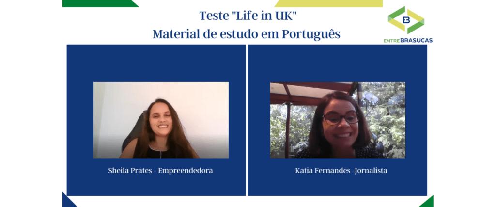 """Sucesso Garantido! Material para o teste """"Life in UK"""" em português"""