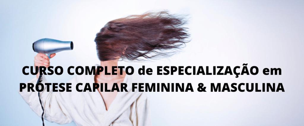 CURSO COMPLETO de ESPECIALIZAÇÃO em PRÓTESE CAPILAR FEMININA & MASCULINA | Fátima Sabino – Eternus Hair System